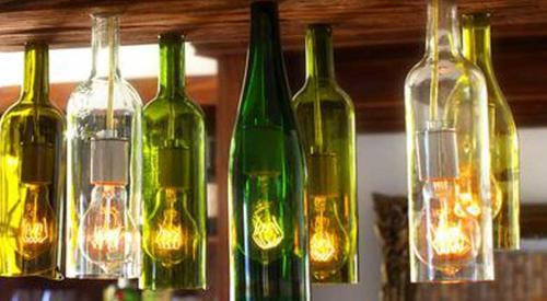 Govi arredamenti riciclo creativo da bottiglia a for Arredamenti guardamiglio
